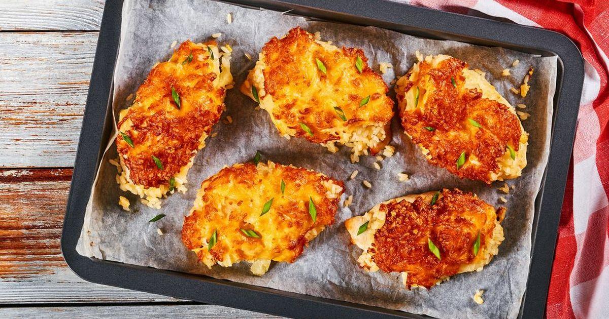 Фото Курица, запеченная с ананасами и сыром