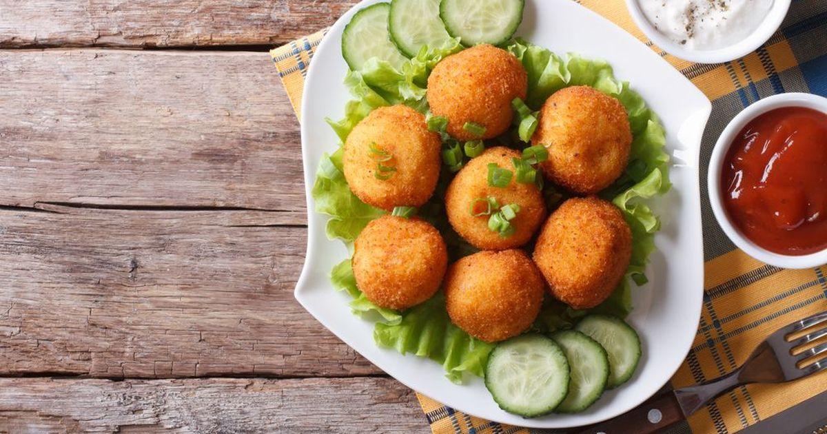 Фото Картофельные шарики с сыром