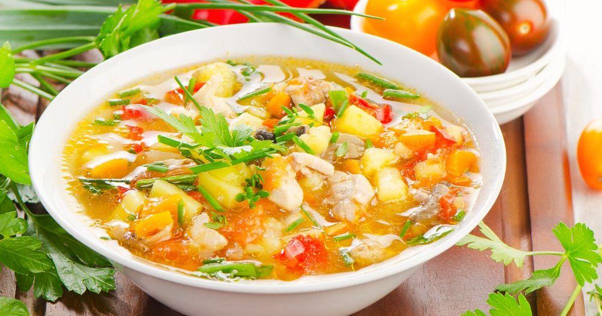 Фото Весенний суп из овощей