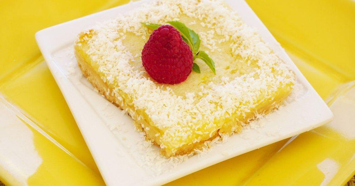 Фото Очень быстрый лимонный пирог