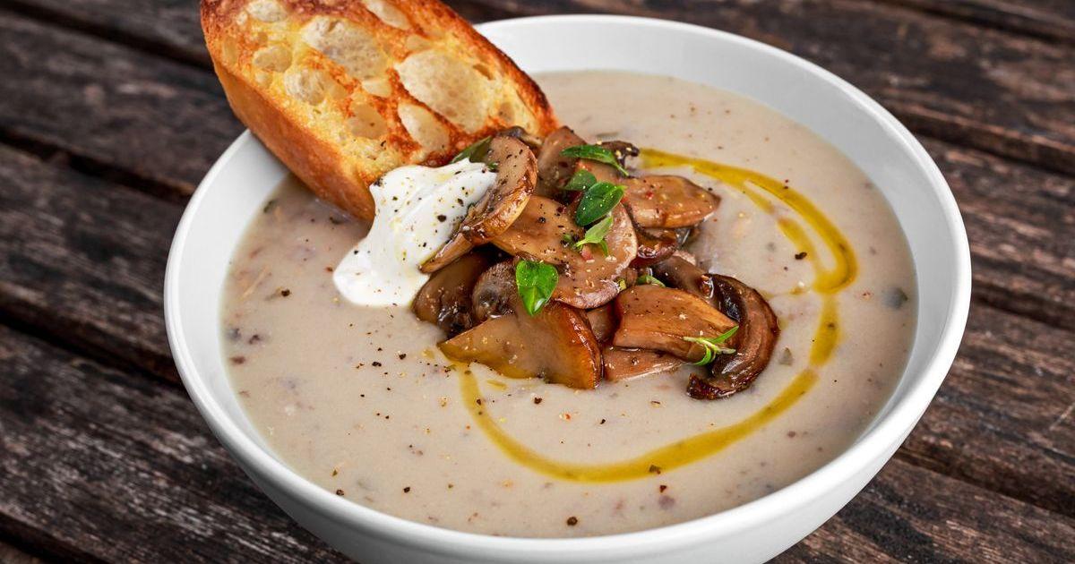 Фото Грибной суп