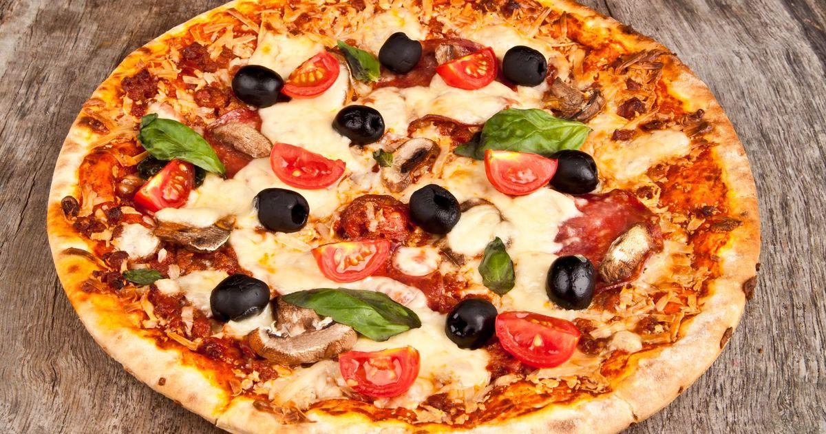 Фото Итальянская пицца в домашних условиях