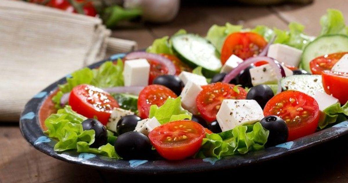 Фото Вкуснейший греческий салат
