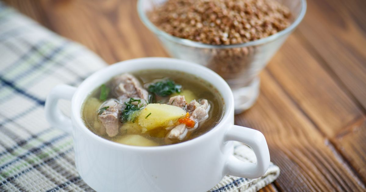 Фото Гречневый суп по-деревенски