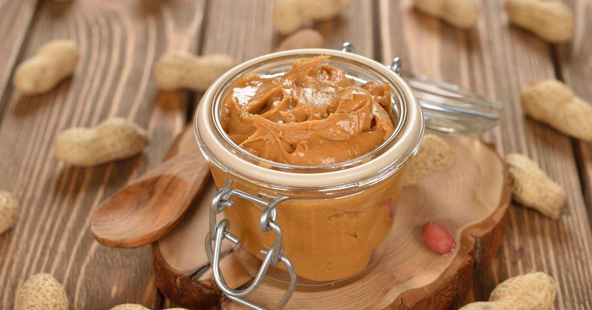 Фото Домашняя арахисовая паста