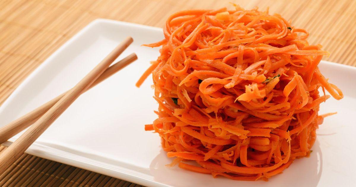 Фото Морковь по-корейски