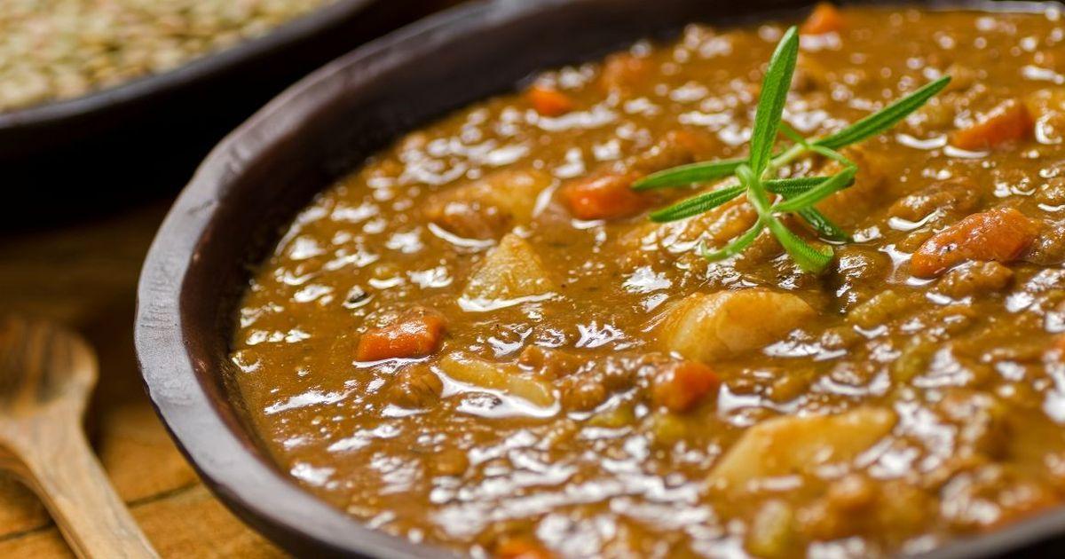 Фото Чечевичный суп