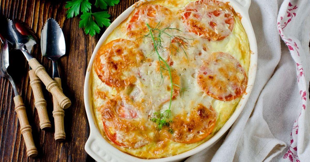 Фото Запеканка с картофелем и рыбой
