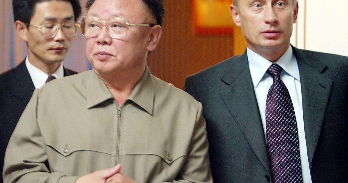 Фото «Путин изображался как ученик Ким Чен Ира»