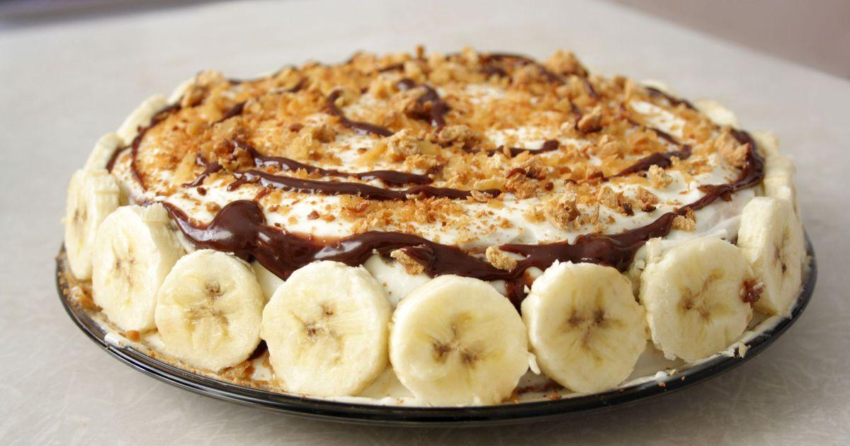 Фото Банановый пирог