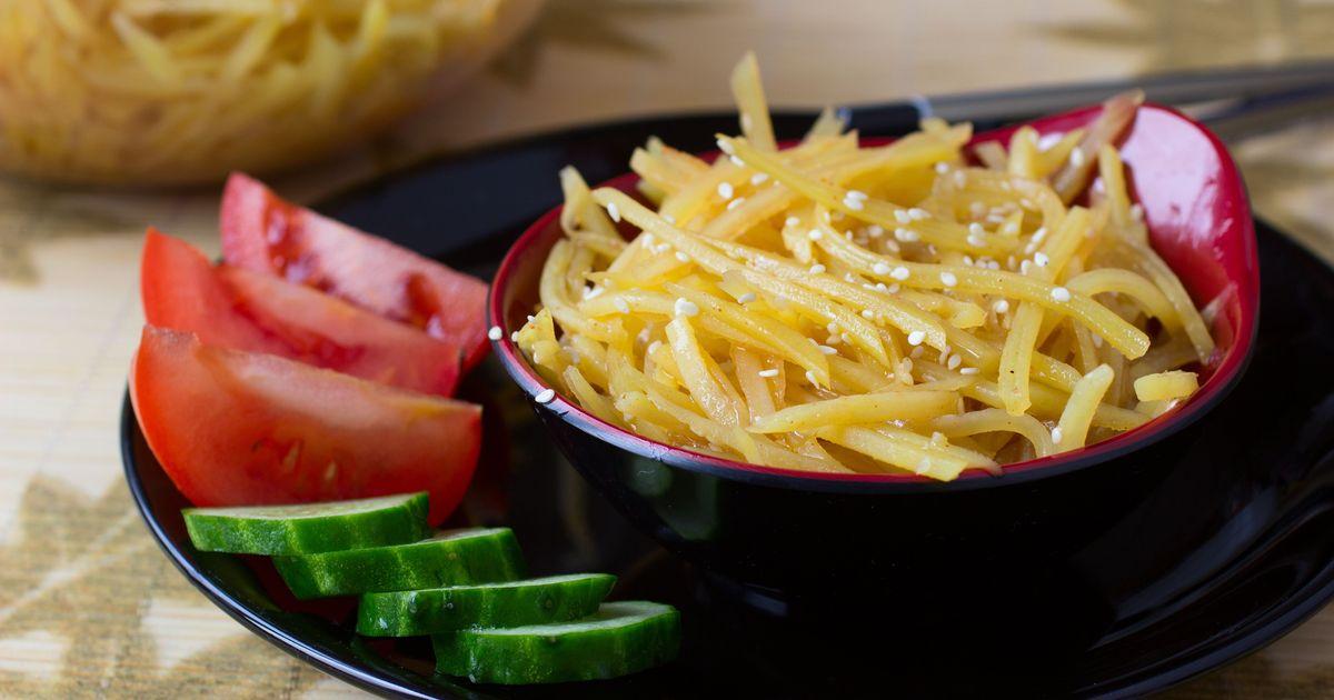 Фото Камди-ча или картофель по-корейски
