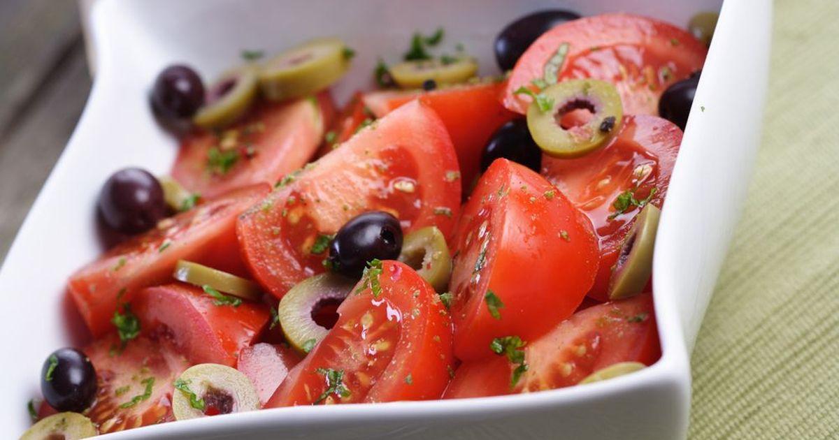Фото Средиземноморский салат