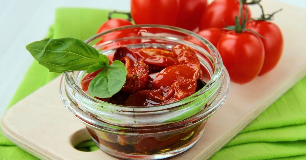 Фото Вяленые томаты по-домашнему