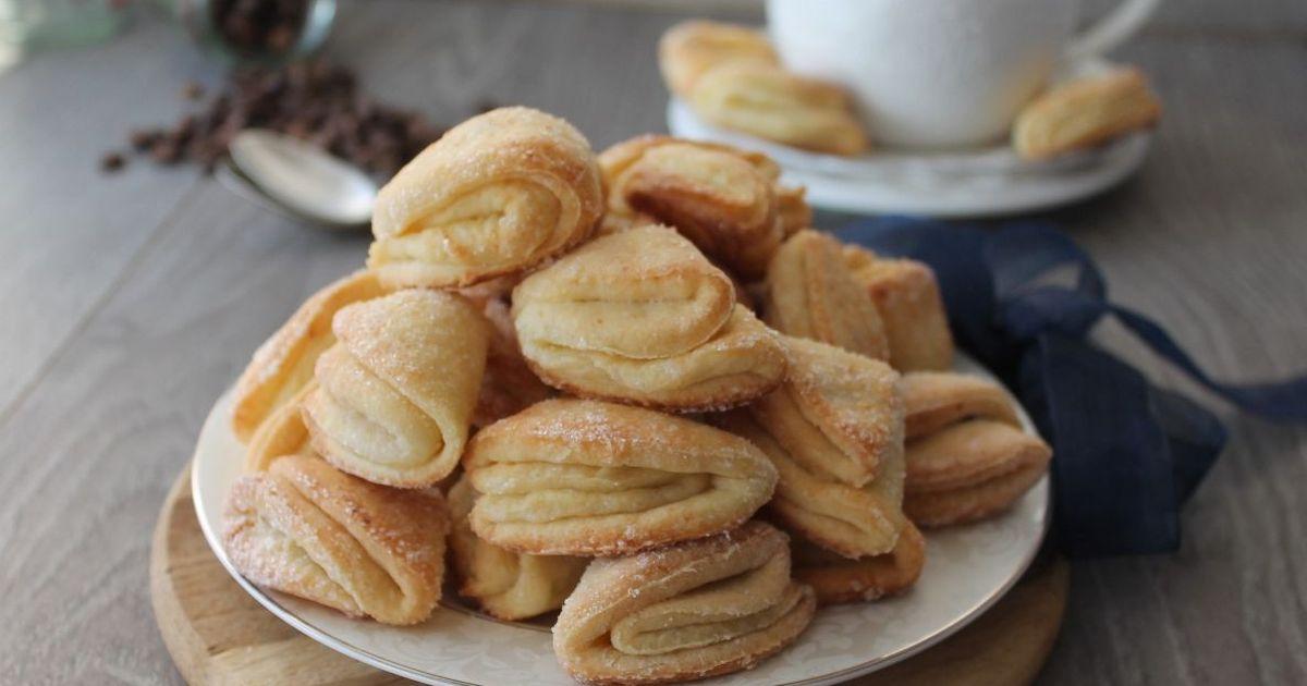 Фото Творожное печенье к чаю