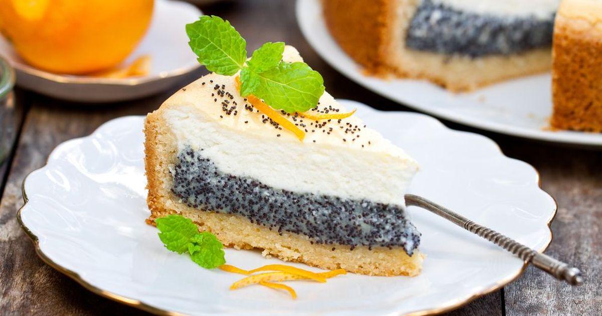 Фото Творожно-маковый пирог