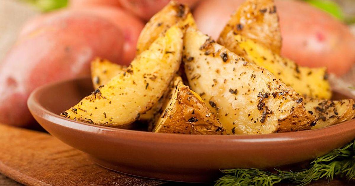 Фото Запечённый картофель по-турецки