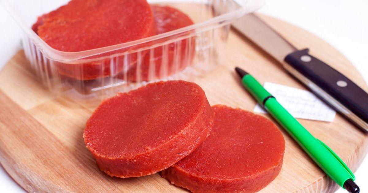 Фото Домашнее томатное пюре на заморозку