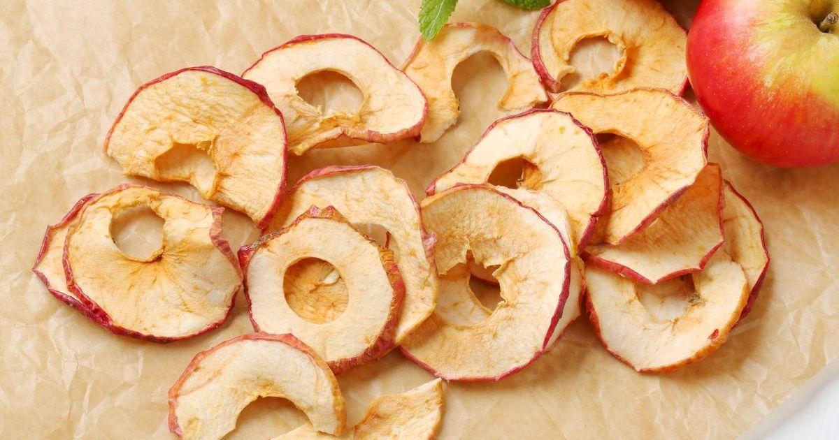 Фото Тонкие яблочные чипсы