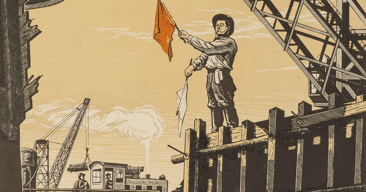 Фото Выставка «Рулевые революции»:  события 1917-го в искусстве стран Востока