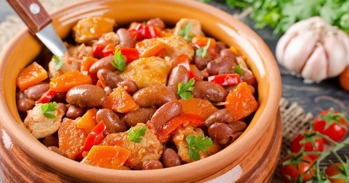 Фото Овощное рагу со свининой