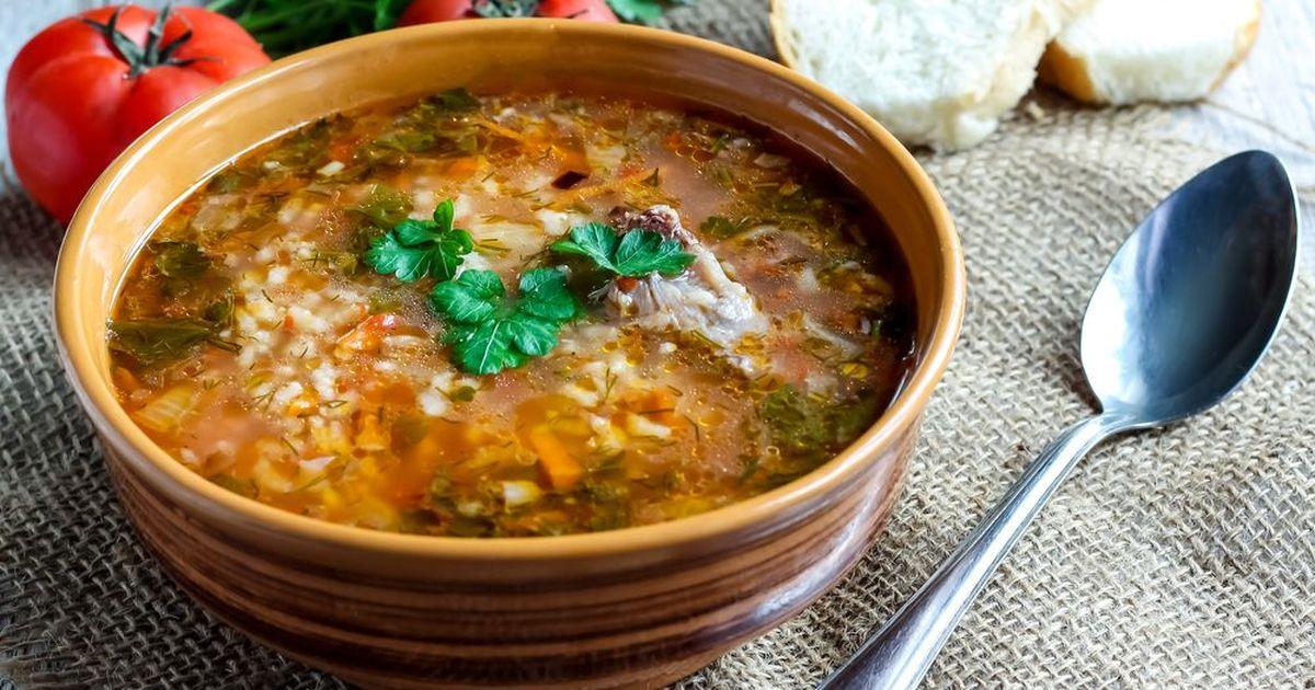 Фото Классический суп харчо