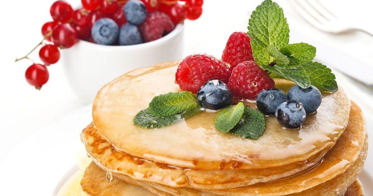 Фото Аппетитные оладушки на йогурте