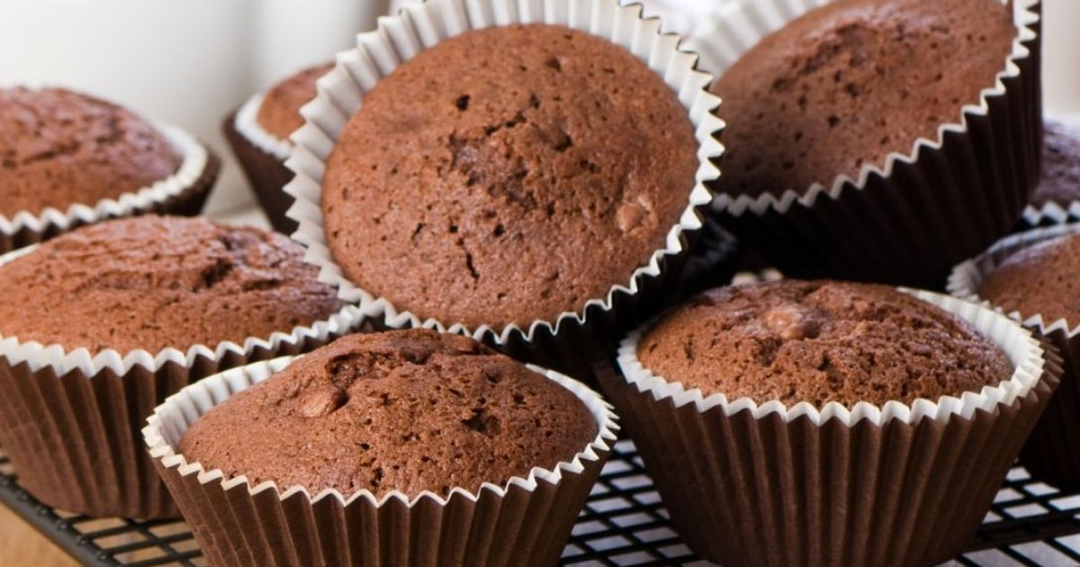Фото Быстрые шоколадные кексы