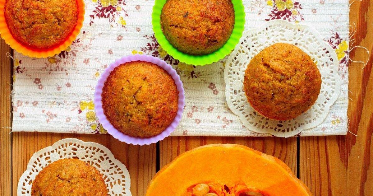 Фото Аппетитные тыквенные кексы с апельсином и лимоном