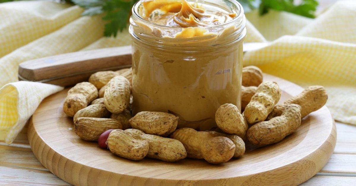 Фото Домашнее арахисовое масло-паста