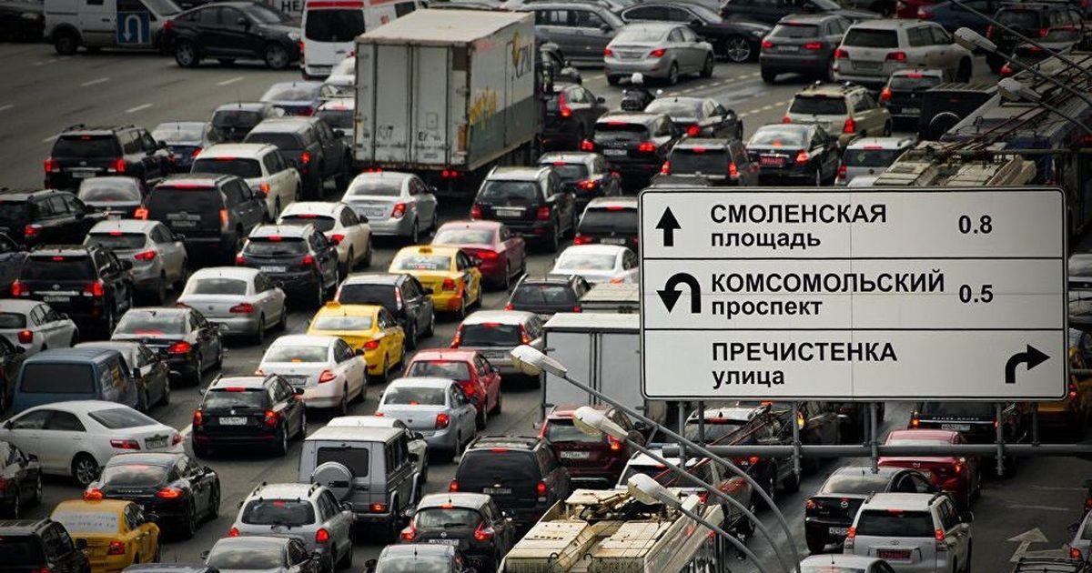 Фото «Ключевая проблема Москвы не в количестве автомобилей и не в пешеходах»