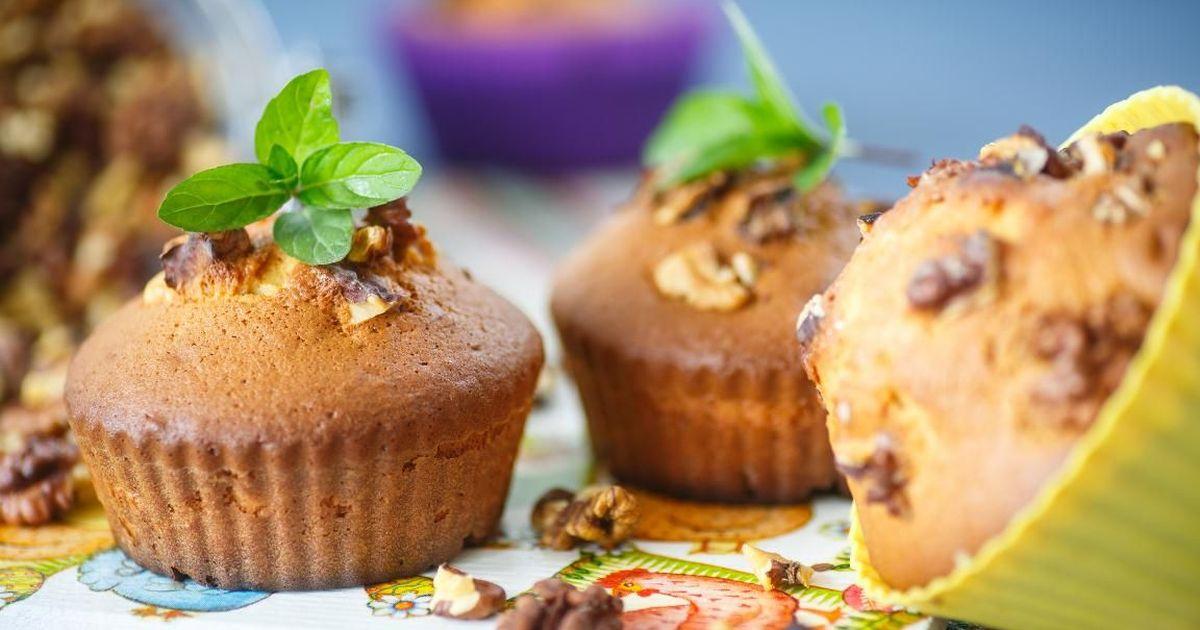 Фото Аппетитные медово-ореховые кексы