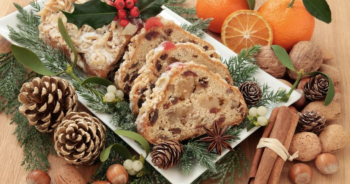 Фото Ароматный рождественский кекс