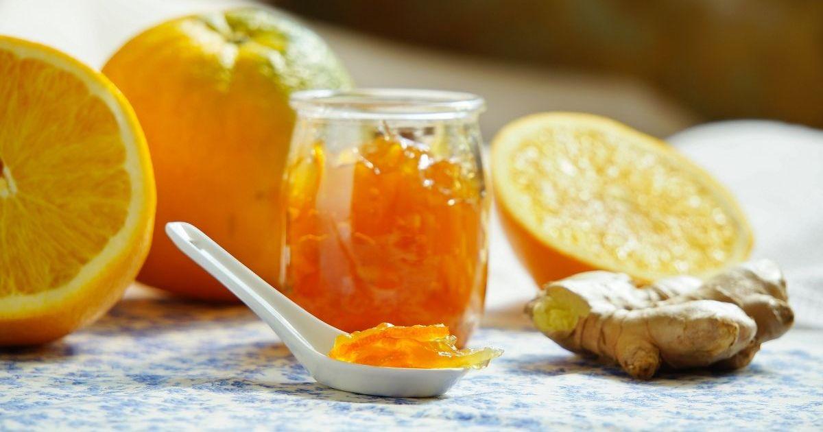 Фото Ароматное карамельно-апельсиновое варенье