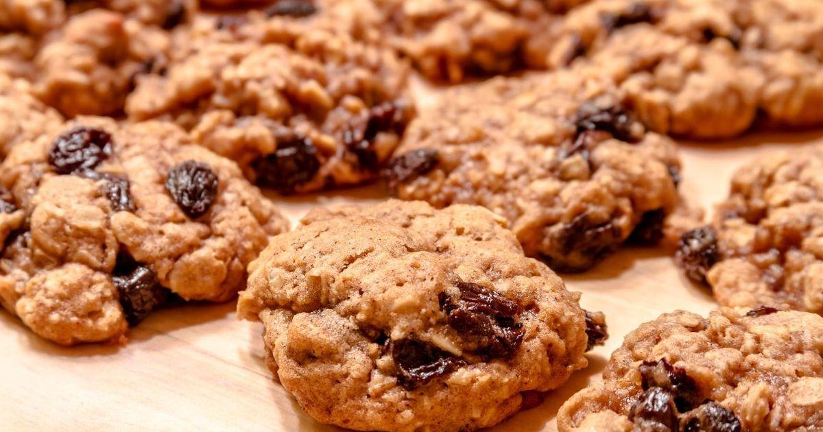 Фото Овсяное печенье по-домашнему
