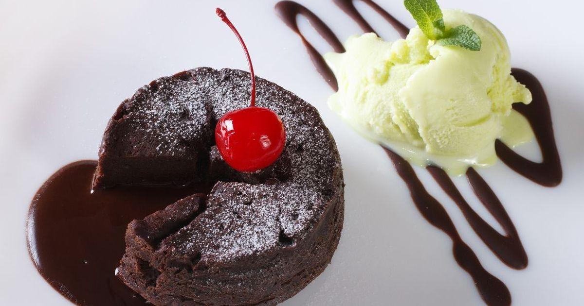 Фото Вкуснейший шоколадный фондан