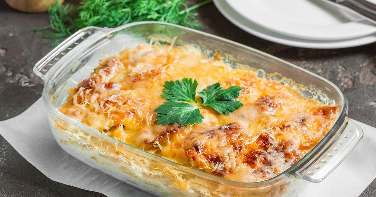 Фото Картофельная запеканка с сыром