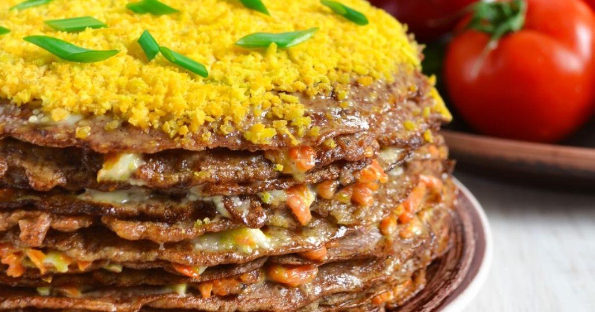 Фото Вкуснейший печеночный торт