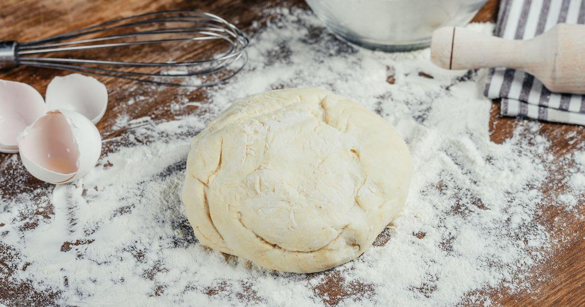 Фото Тесто для пирогов, пирожков или пиццы