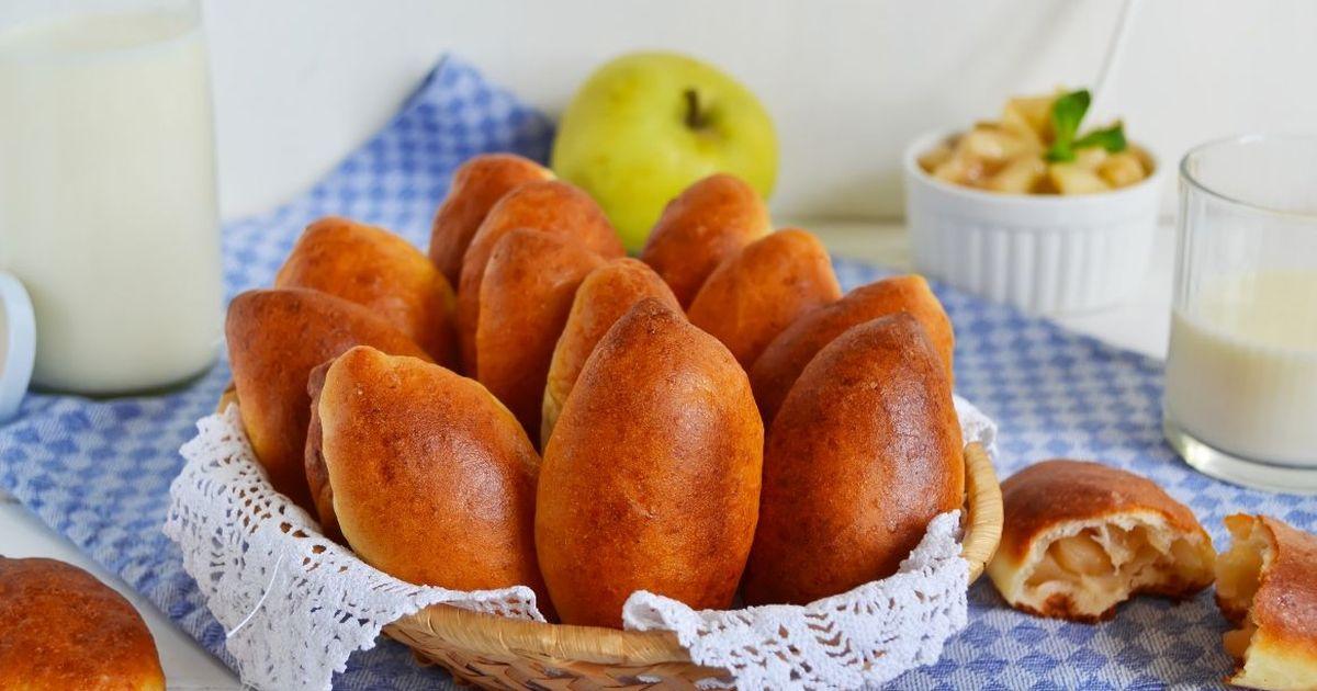 Фото Вкуснейшие пирожки с яблоками