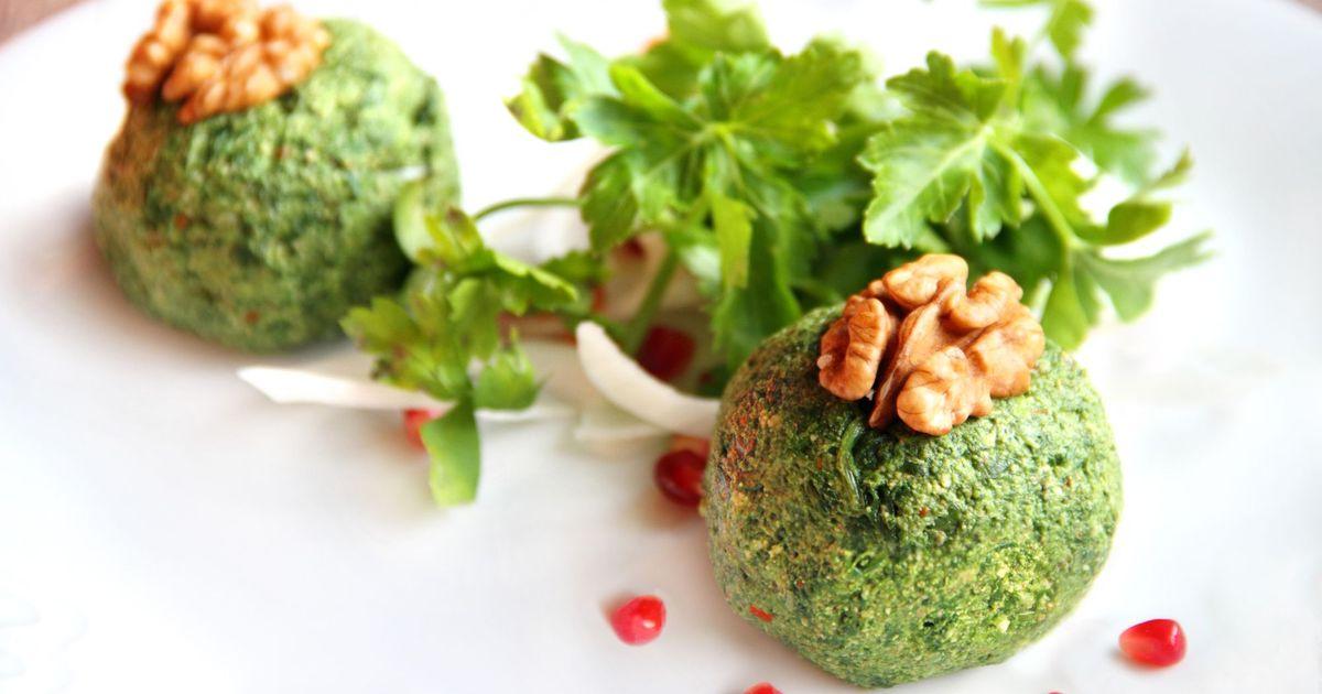 Фото Пхали со шпината – грузинская закуска