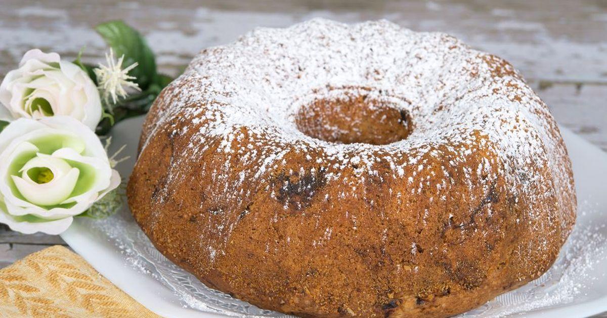 Фото Шоколадный кекс с черносливом