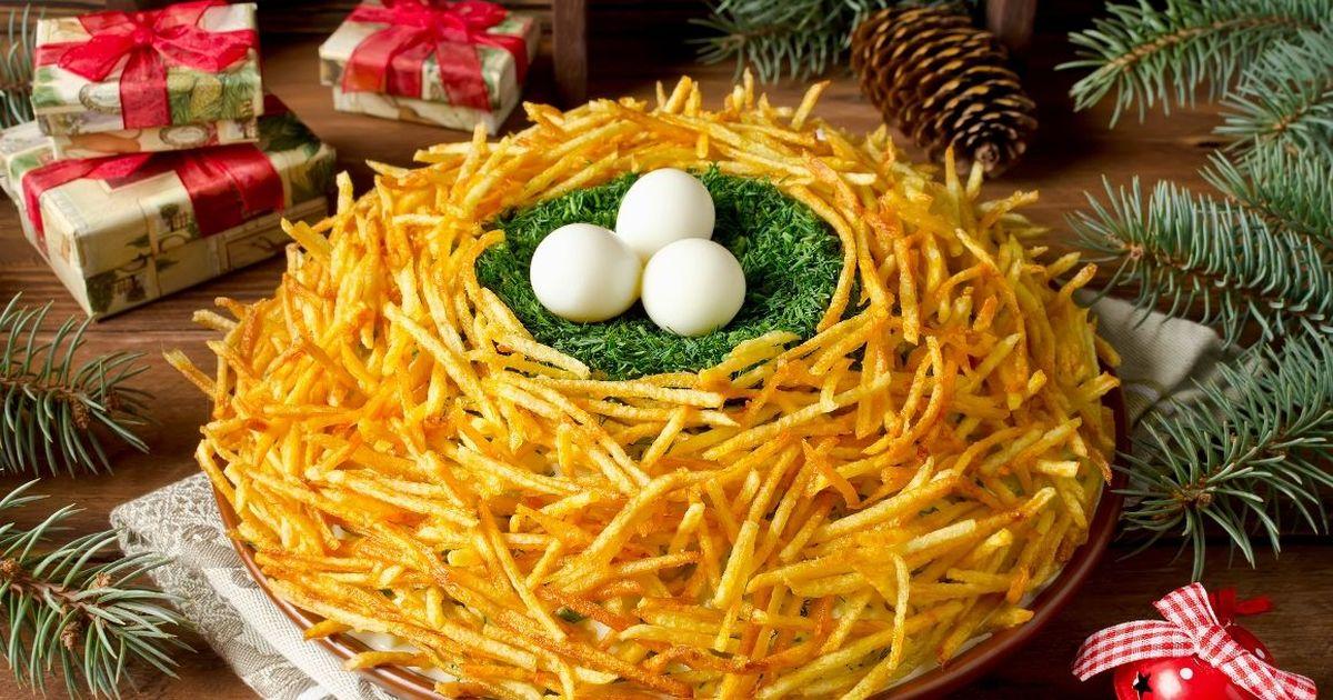 Фото Праздничный салат