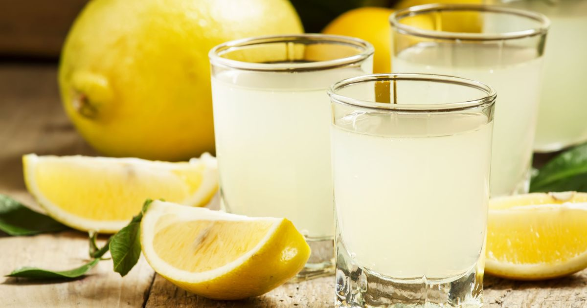Фото Спотыкач с лимоном