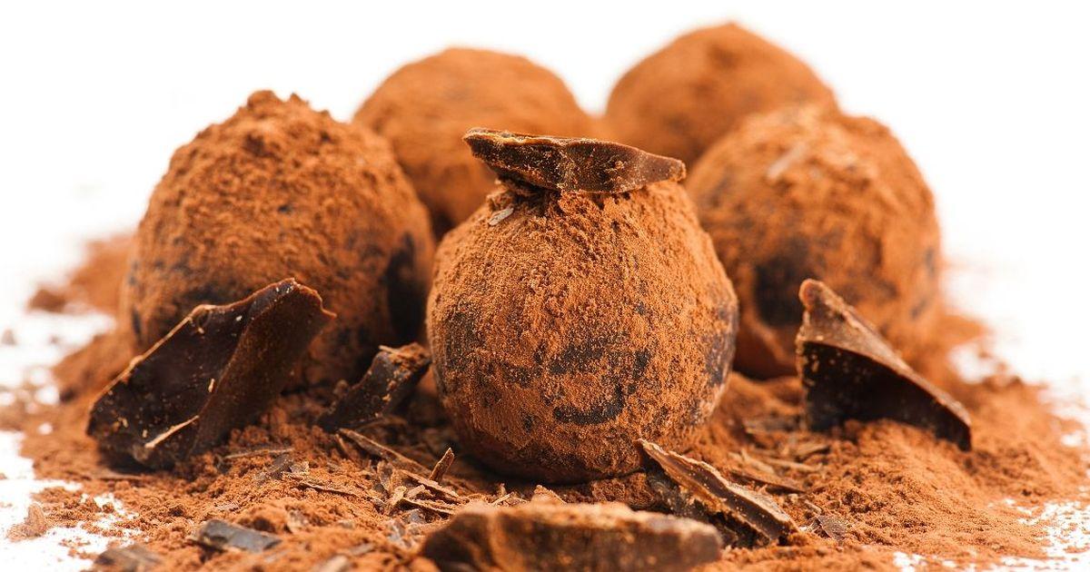 Фото Домашние шоколадный трюфели