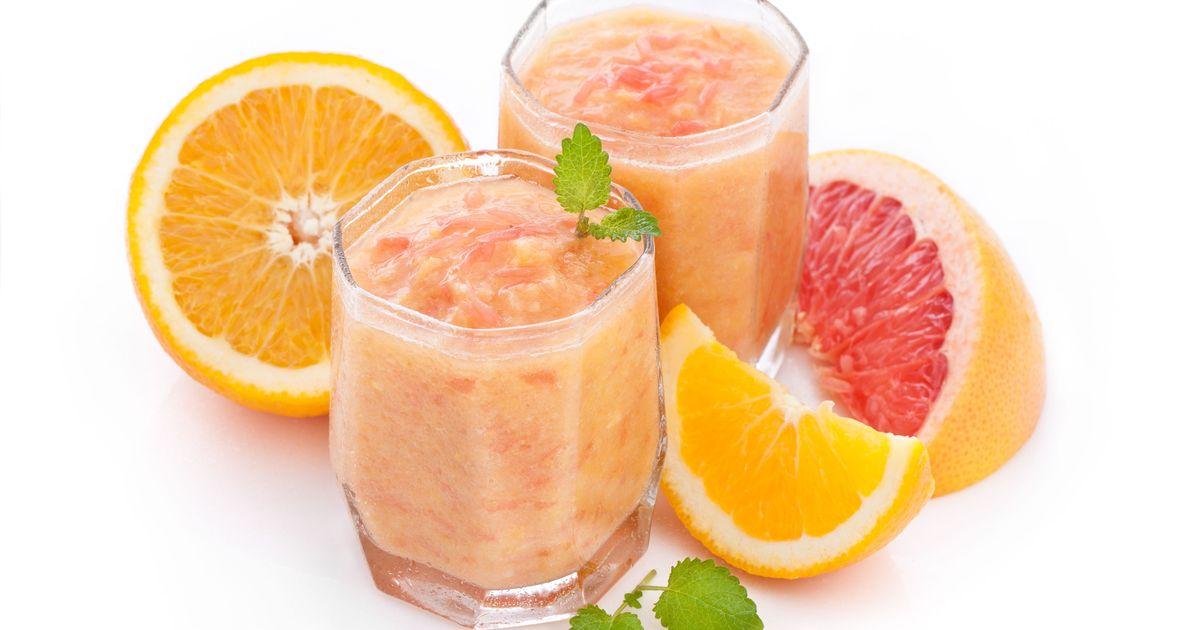 Фото Смузи из грейпфрута для похудения