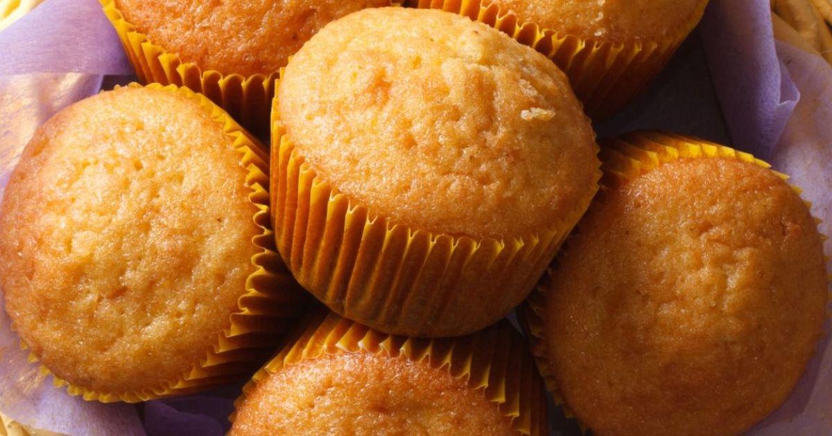 Фото Аппетитные кексы со сгущенкой