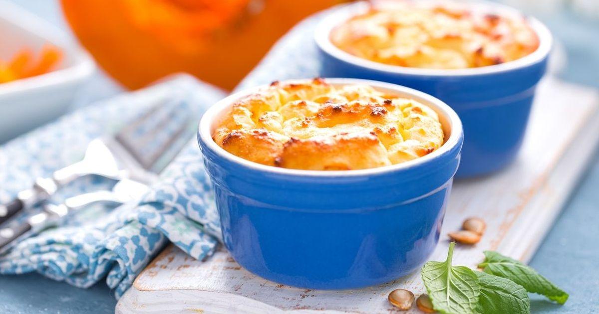 Фото Вкуснейшая тыквенная запеканка с сыром
