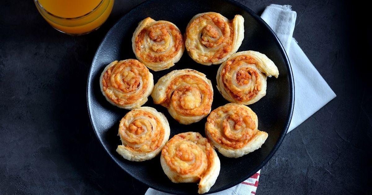 Фото Вкуснейшие рулетики с ветчиной и сыром