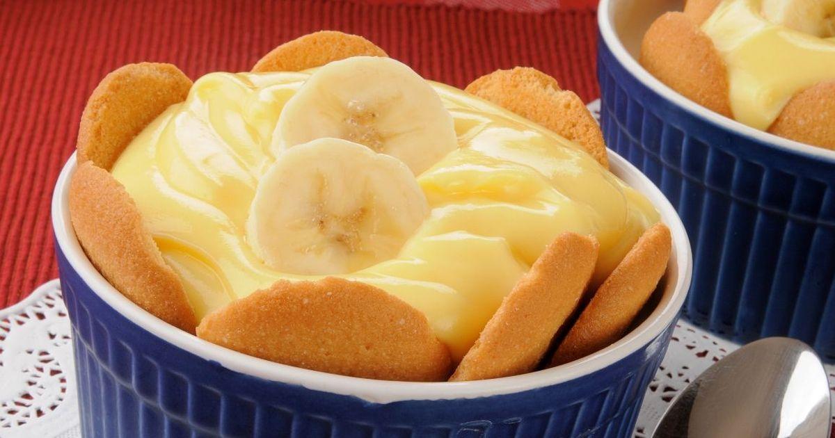 Фото Вкуснейший банановый пудинг