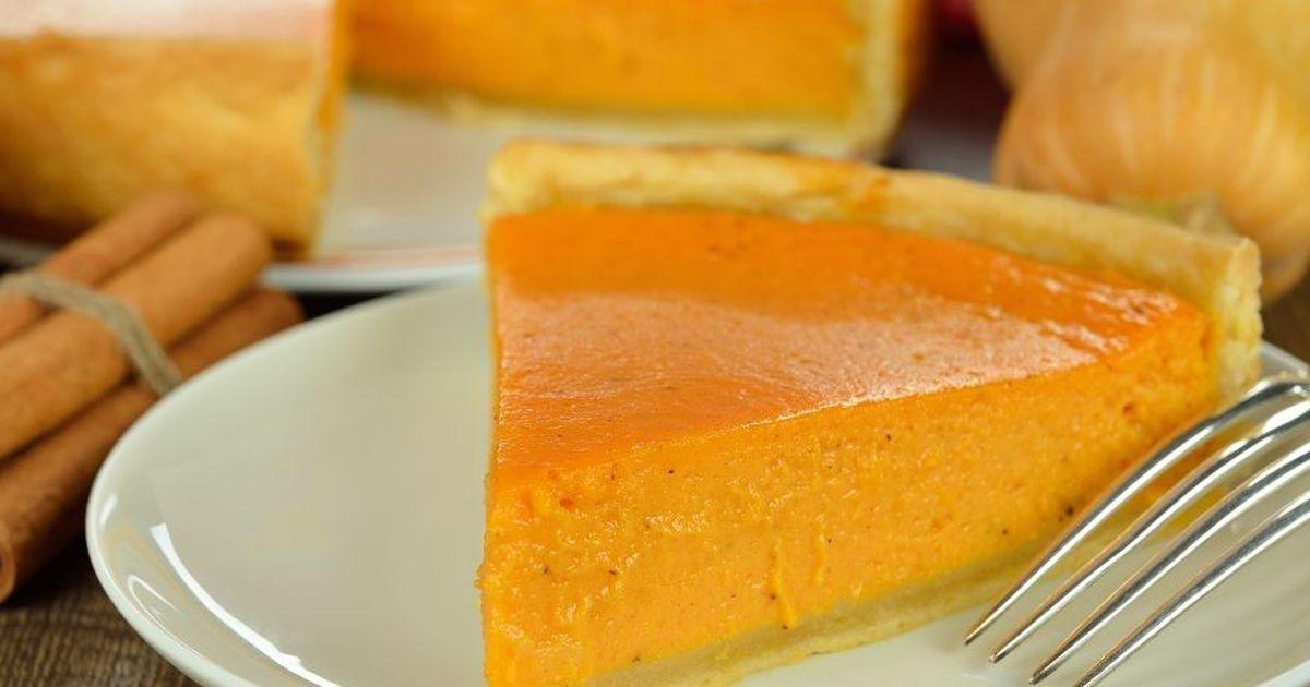 Фото Ароматный американский тыквенный пирог